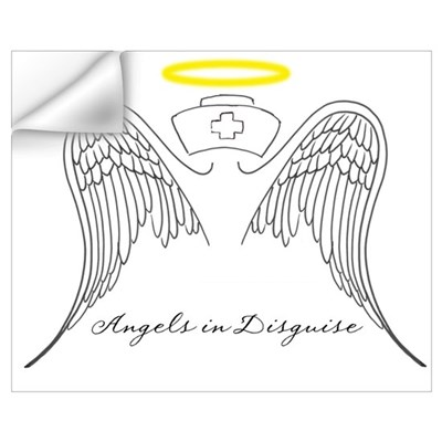 Angels in Disguise Wall Decal