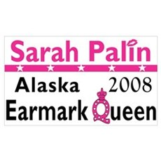 Queen Palin Canvas Art
