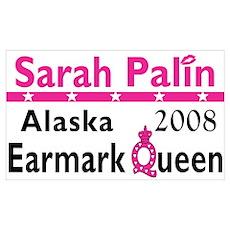 Queen Palin Poster