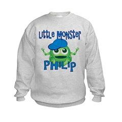 Little Monster Philip Kids Sweatshirt