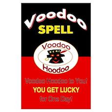 Large Voodoo Spell Print Poster