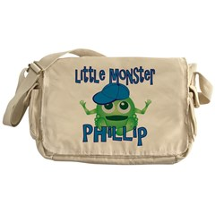 Little Monster Phillip Messenger Bag