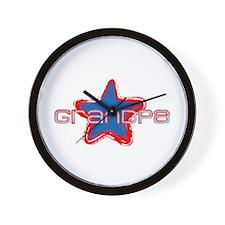 Grandpa Star Wall Clock