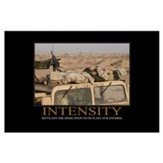 Intensity Motivational Poster