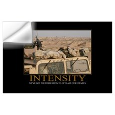 Intensity Motivational Wall Decal