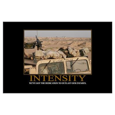 Intensity Motivational Poster