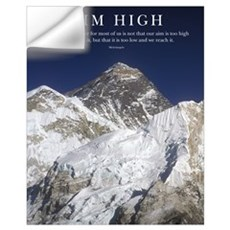 Aim High Mt Everest Wall Decal
