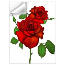 Rose Red Wall Decal