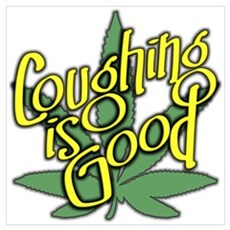 Coughing Is Good Poster
