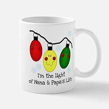 Light of Nana and Papa's Life Mug
