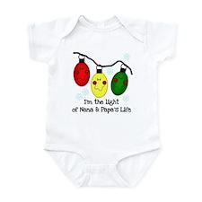 Light of Nana and Papa's Life Infant Bodysuit
