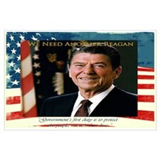 Need Another Reagan Poster