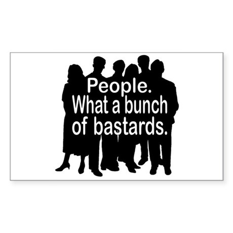 People Sticker (Rectangle)