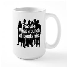People Ceramic Mugs