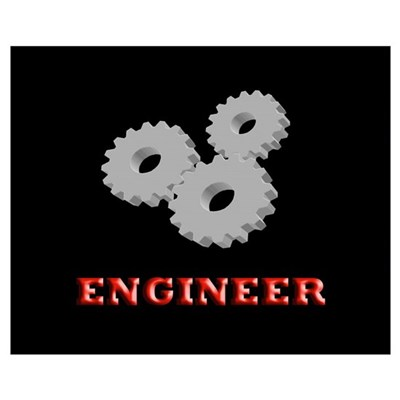 Mechanical Engineer Poster