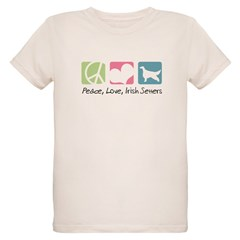 Peace, Love, Irish Setters T-Shirt