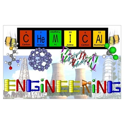 Chemical Engineering Print (16 x 20) Poster