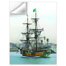 Tall Ships Wall Decal