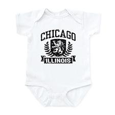 Chicago Illinois Infant Bodysuit