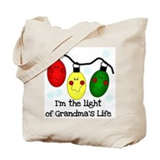Light of Grandma's Life Tote Bag