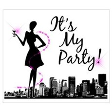 """""""It's My Party!"""" Poster"""
