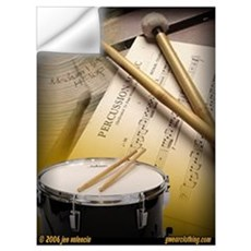 Drums Art 2 Wall Decal