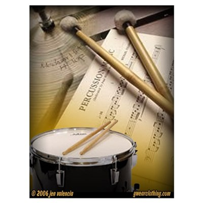 Drums Art 2 Poster
