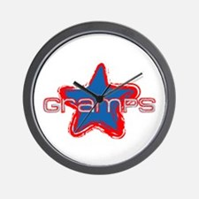 Gramps Star Wall Clock