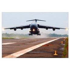 C-5 Galaxy Canvas Art