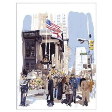 St. Paul's after 9/11 Poster