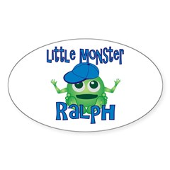 Little Monster Ralph Decal