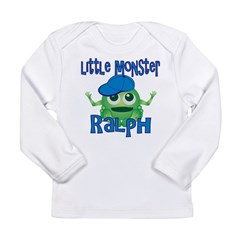 Little Monster Ralph Long Sleeve Infant T-Shirt