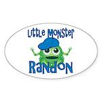 Little Monster Randon Sticker (Oval)