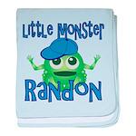 Little Monster Randon baby blanket