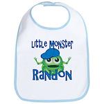 Little Monster Randon Bib