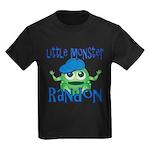 Little Monster Randon Kids Dark T-Shirt