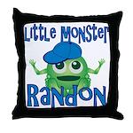 Little Monster Randon Throw Pillow