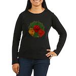Tres Habaneras Women's Long Sleeve Dark T-Shirt