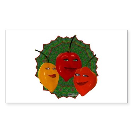 Tres Habaneras Sticker (Rectangle)