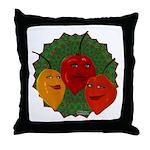 Tres Habaneras Throw Pillow