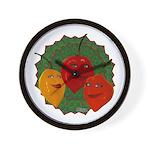 Tres Habaneras Wall Clock
