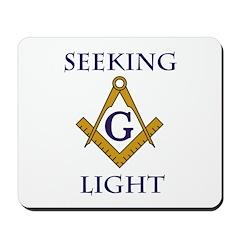 Seeking Light Mousepad