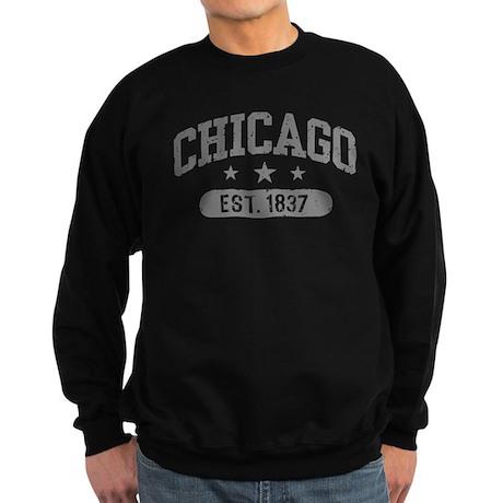 Chicago Est.1837 Sweatshirt (dark)