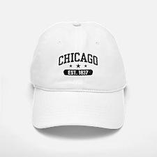 Chicago Est.1837 Baseball Baseball Cap