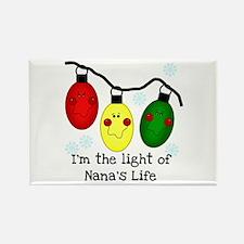 Light of Nana's Life Rectangle Magnet