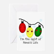 Light of Nana's Life Greeting Card