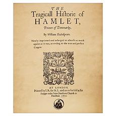 Hamlet Quarto (1605) Poster