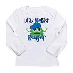 Little Monster Roger Long Sleeve Infant T-Shirt