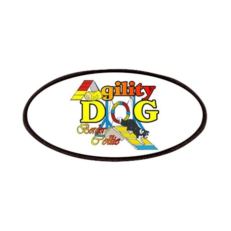 Agility Border Collie Patches