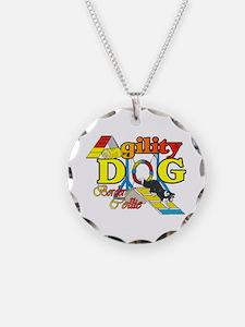 Agility Border Collie Necklace